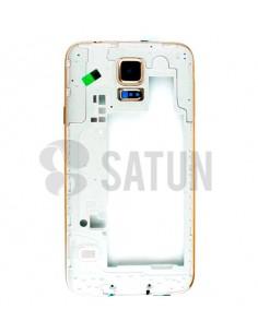 Carcasa intermedia Samsung Galaxy S5 oro