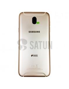 Carcasa trasera Samsung Galaxy J7 2017 Dual oro
