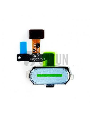 Flex botón Home y sensor huella Samsung Galaxy J5 2017 y J7 2017 azul