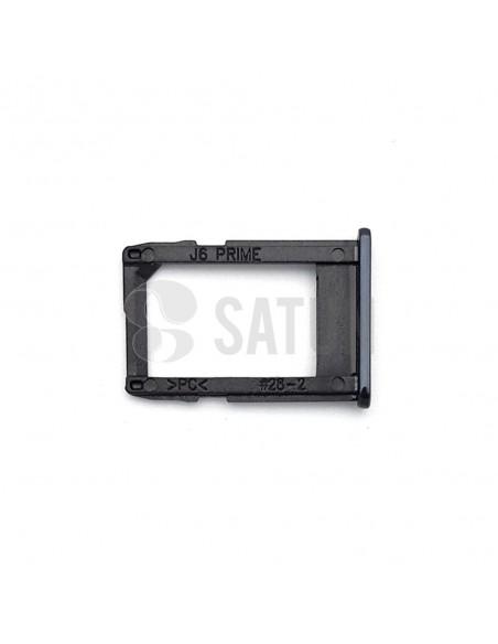 Bandeja SIM1 Samsung Galaxy J6 Plus negro
