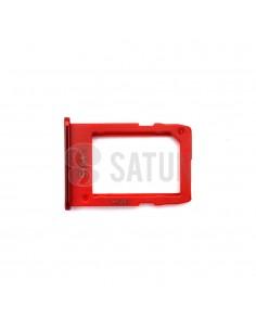 Bandeja SIM1 Samsung Galaxy J6 Plus rojo