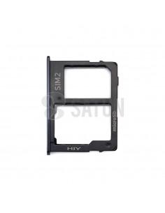 Bandeja SIM2 y MicroSD Samsung Galaxy J6 Plus negro