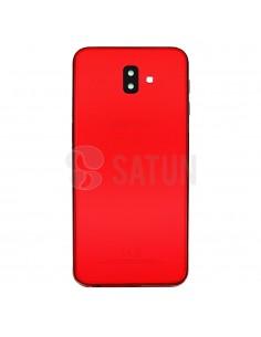 Carcasa trasera Samsung Galaxy J6 Plus rojo