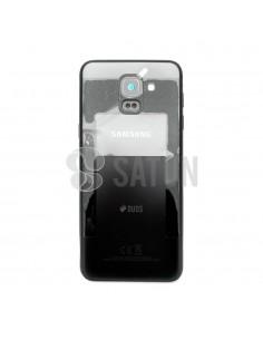 Carcasa trasera Samsung Galaxy J6 negro