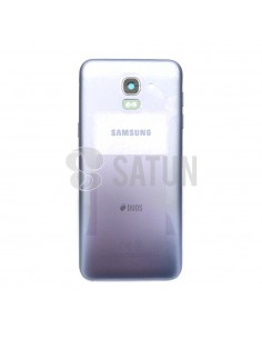Carcasa trasera Samsung Galaxy J6 azul lavanda