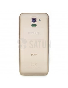 Carcasa trasera Samsung Galaxy J6 oro
