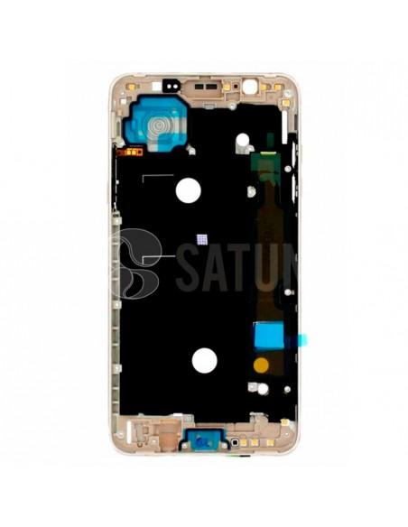 Carcasa intermedia Samsung Galaxy J7 2016 oro