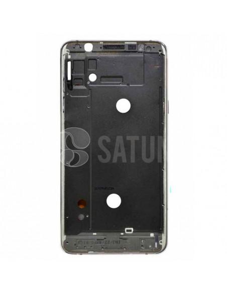 Carcasa intermedia Samsung Galaxy J7 2016 negro