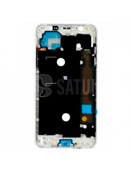Carcasa intermedia Samsung Galaxy J7 2016 blanco