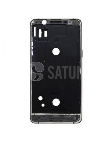 Carcasa intermedia Samsung Galaxy J5 2016 negro