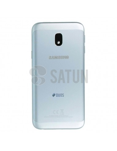 Carcasa trasera Samsung Galaxy J3 2017 Dual azul