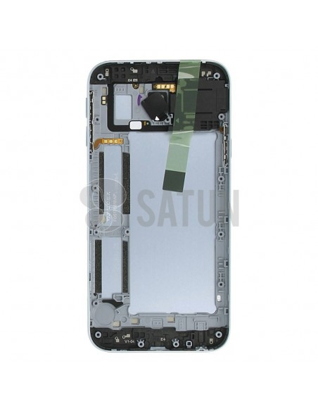 Carcasa trasera Samsung Galaxy J3 2017 Dual azul posterior
