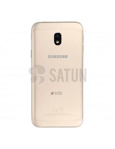 Carcasa trasera Samsung Galaxy J3 2017 Dual oro