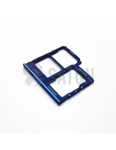 Bandeja Dual SIM y microSD Samsung Galaxy A40 azul. GH98-44303C
