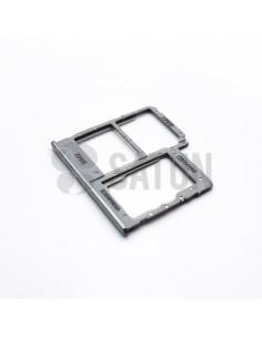 Bandeja Dual SIM y microSD Samsung Galaxy A40 blanco. GH98-44303B