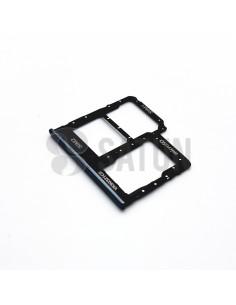 Bandeja Dual SIM y microSD Samsung Galaxy A40 negro. GH98-44303A