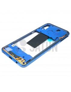 Carcasa intermedia Samsung Galaxy A40 azul. GH97-22974C