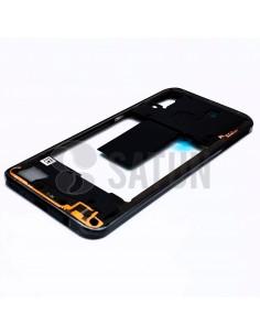 Carcasa intermedia Samsung Galaxy A40 negro. GH97-22974A