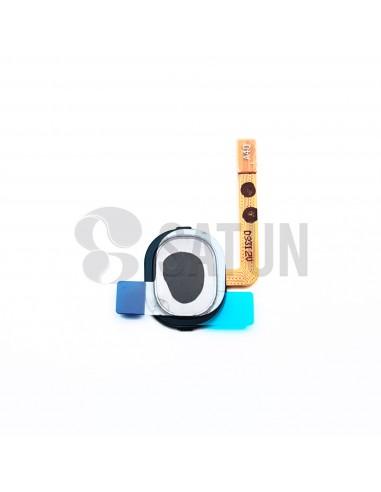 Flex botón home y sensor huella Samsung Galaxy A40 negro. GH96-12484A