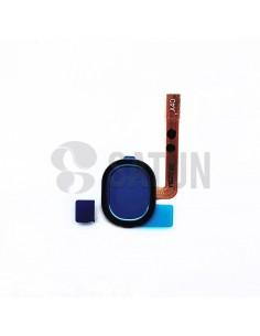 Flex botón home y sensor huella Samsung Galaxy A40 azul. GH96-12484C