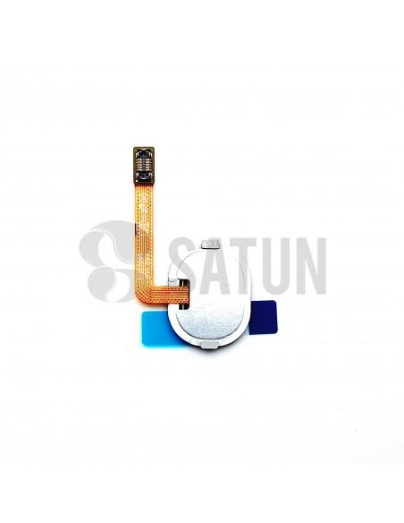 Flex botón home y sensor huella Samsung Galaxy A40 posterior. GH96-12484C