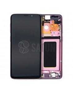 Pantalla Samsung Galaxy S9 Plus morado