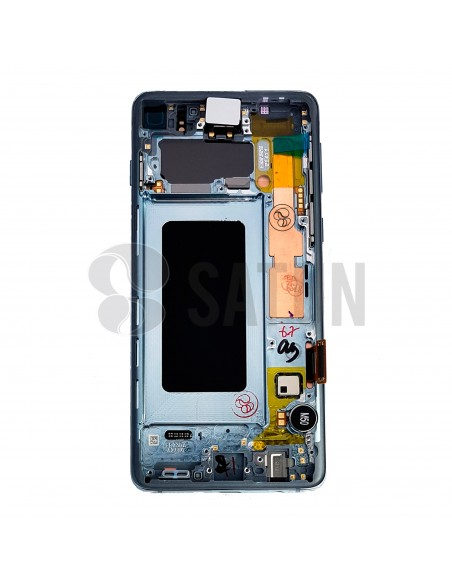 Pantalla Samsung Galaxy S10 azul posterior. GH82-18835C