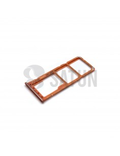 Bandeja Dual SIM y microSD Samsung Galaxy A50 naranja. GH98-43922D