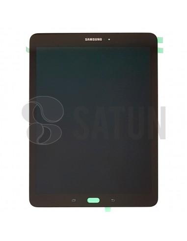 Pantalla Samsung Galaxy Tab S3 negra frontal. GH97-20282A