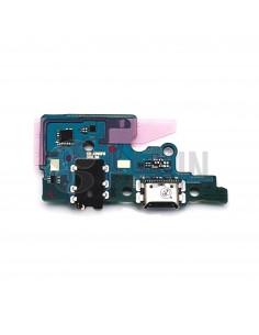 Sub placa USB y auriculares Samsung Galaxy A70 frontal. GH96-12724A