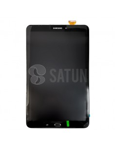 Pantalla Samsung Galaxy Tab A 2016 Wifi y 4G negra frontal. GH97-19022A y GH97-19108A