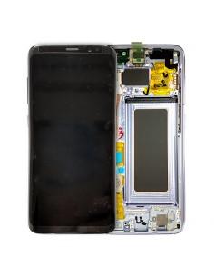 Pantalla con marco Samsung Galaxy S8 violeta. GH97-20457C y GH97-20473C