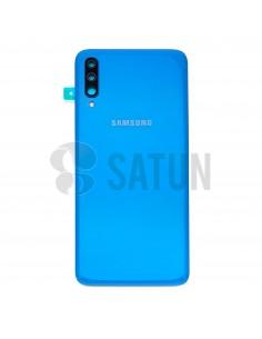 Tapa de batería Samsung Galaxy A70 azul frontal. GH82-19467C