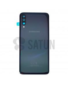 Tapa de batería Samsung Galaxy A70 negro frontal. GH82-19467A