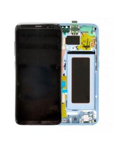 Pantalla Samsung Galaxy S8 azul