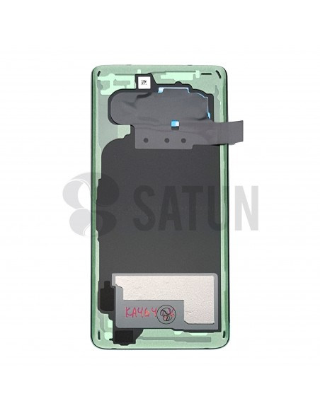 Tapa de batería Samsung Galaxy S10 azul posterior. GH82-18378C