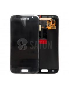 Pantalla Samsung Galaxy S7 negro. GH97-18523A y GH97-18761A