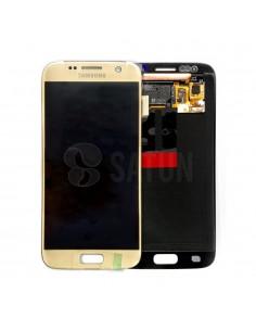 Pantalla Samsung Galaxy S7 oro. GH97-18523C y GH97-18761C