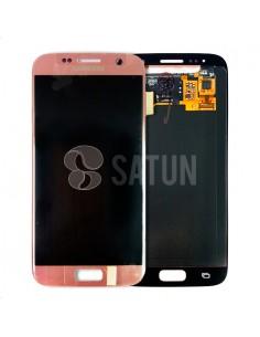 Pantalla Samsung Galaxy S7 rosa. GH97-18523E y GH97-18761E