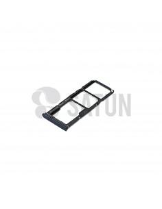 Bandeja Dual Sim y microSD Samsung Galaxy A9 2018 negro. GH98-43612A