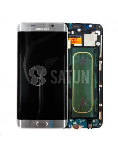 Pantalla Samsung Galaxy S6 Edge Plus plata