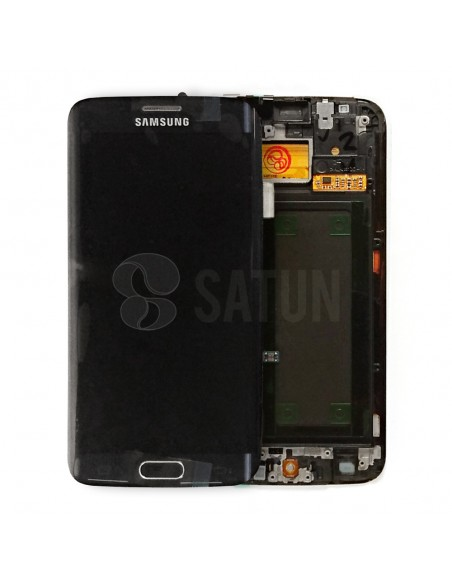 Pantalla Samsung Galaxy S6 Edge negro. GH97-17162A
