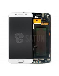 Pantalla Samsung Galaxy S6 Edge blanco. GH97-17162B