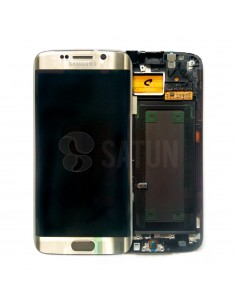 Pantalla Samsung Galaxy S6 Edge oro. GH97-17162C