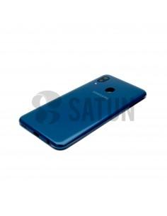 Carcasa trasera Samsung Galaxy A20e azul vista en perspectiva. GH82-20125C
