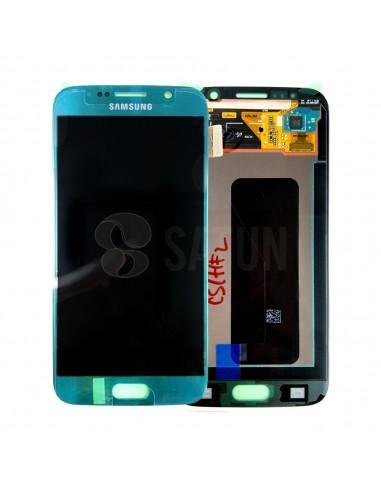 Pantalla Samsung Galaxy S6 azul. GH97-17260D