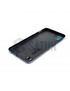 Carcasa trasera Samsung Galaxy A10 negro vista interior perspectiva. GH82-20232A