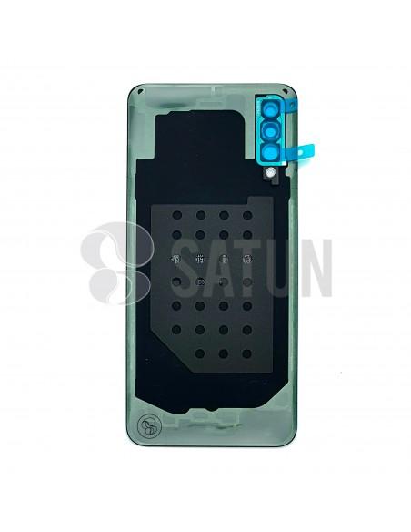 GH82-20805B. Tapa de batería Samsung Galaxy A30s verde vista posterior.