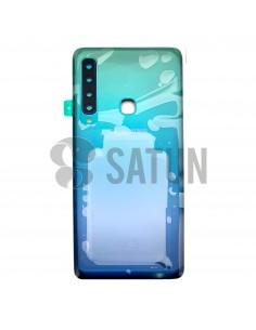 GH82-18234B . Tapa de batería Samsung Galaxy A9 2018 azul. Frontal