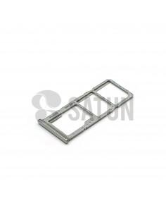 GH98-44196B. Bandeja Dual SIM y microSD Samsung Galaxy A70 blanco